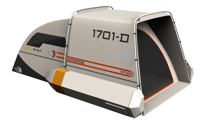 Star Trek Shuttlecraft Tent