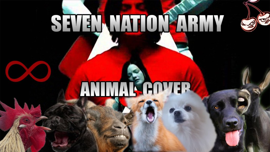 【カヴァー曲】動物たちが歌う The White Stripes' 'Seven Nation Army'