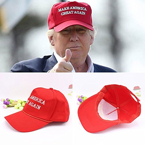 Fashion 2016 Make America Great Again - Donald Trump Hat Cap Red ドナルド・トランプ・キャップ